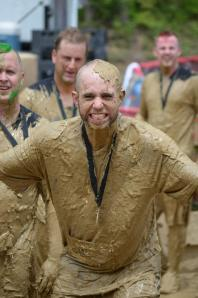 Stu after the Warrior Dash :)